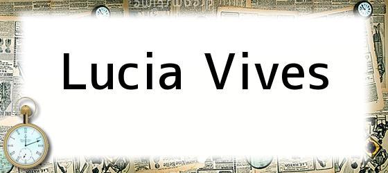 Lucia Vives