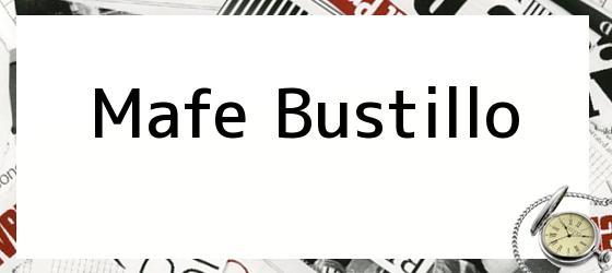 Mafe Bustillo
