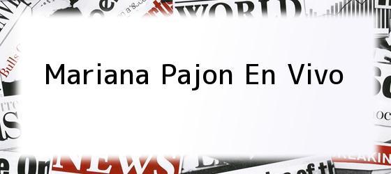 Mariana Pajon En Vivo