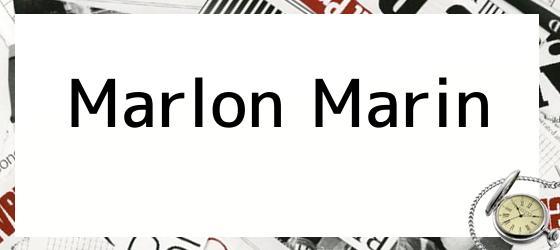 Marlon Marin