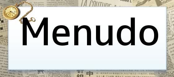Menudo