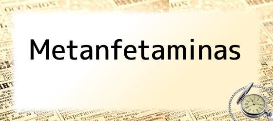 Metanfetaminas