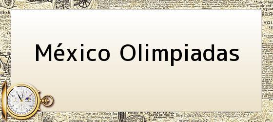México Olimpiadas
