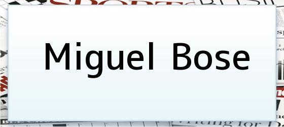Miguel Bose