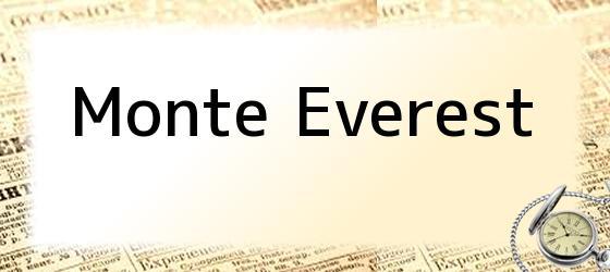 <i>Monte Everest</i>