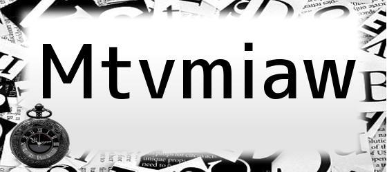 Mtvmiaw