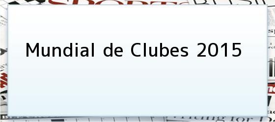 Mundial de Clubes 2015