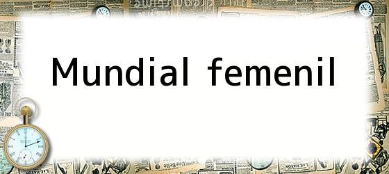Mundial femenil