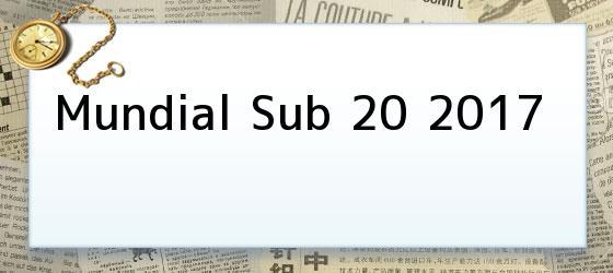 Mundial Sub 20 2017