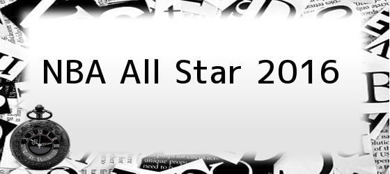 NBA All Star 2016