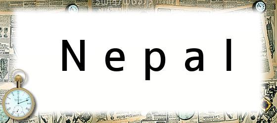 <i>Nepal</i>