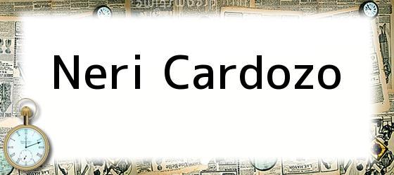 Neri Cardozo