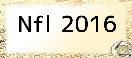 Nfl 2016