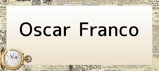 Oscar Franco