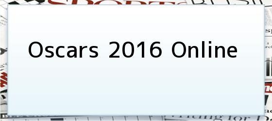 Oscars 2016 Online