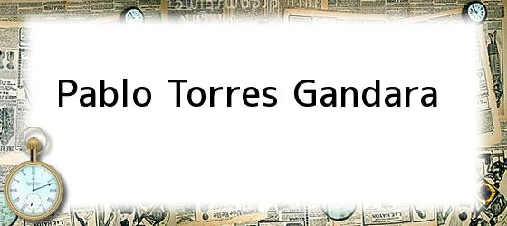 Pablo Torres Gandara
