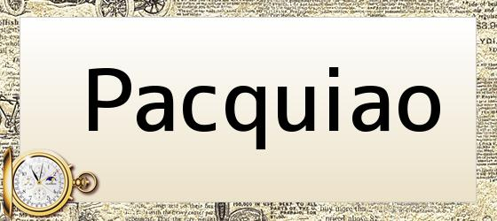 Pacquiao