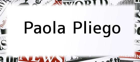 Paola Pliego