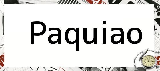 Paquiao