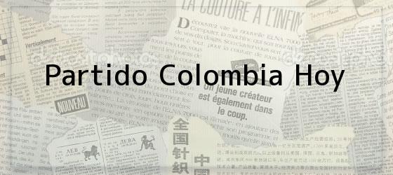 Partido Colombia Hoy