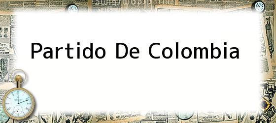 Partido De Colombia