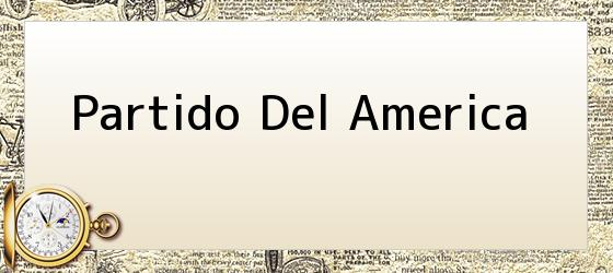 Partido Del America