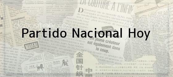 Partido Nacional Hoy