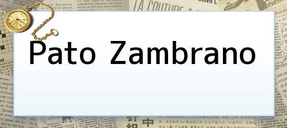 Pato Zambrano