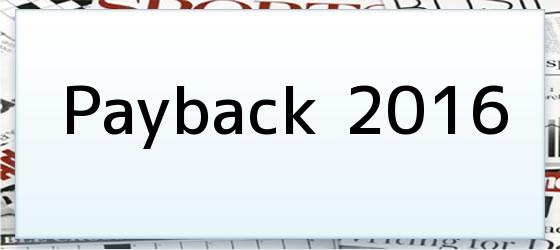 Payback 2016
