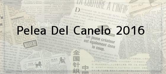 Pelea Del Canelo 2016