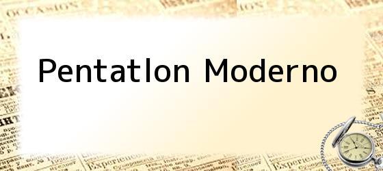 Pentatlon Moderno