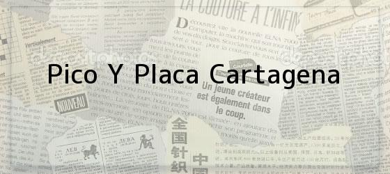 Pico Y Placa Cartagena