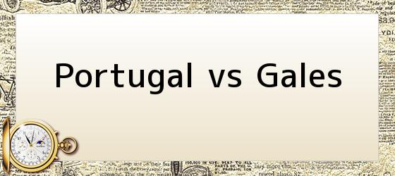 Portugal vs Gales