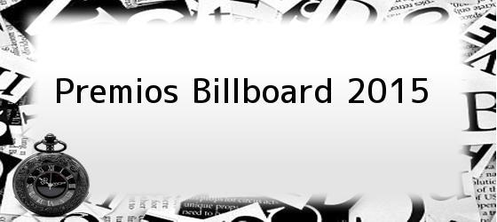 Premios Billboard 2015