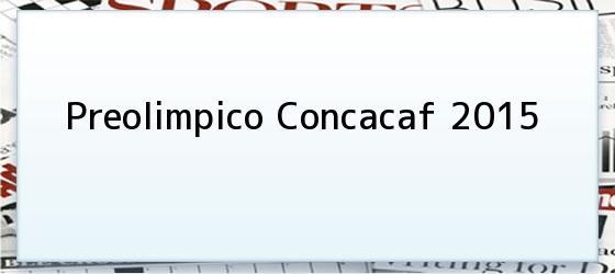 Preolimpico Concacaf 2015
