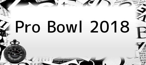 <i>Pro Bowl 2018</i>
