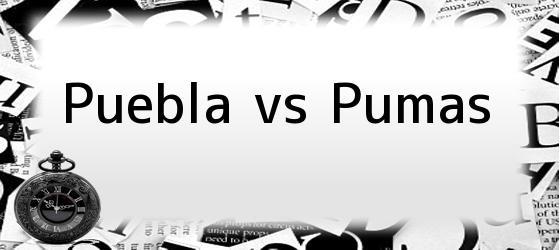 Puebla vs Pumas