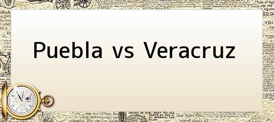 Puebla vs Veracruz