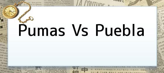Pumas vs Puebla