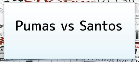 Pumas vs Santos