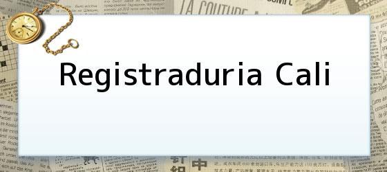 Registraduria Cali