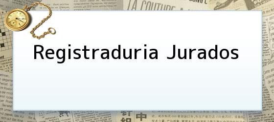 Registraduria Jurados
