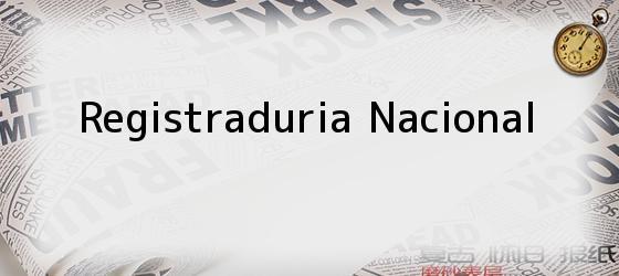 Registraduria Nacional