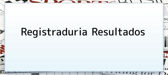 Registraduria Resultados
