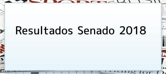 Resultados Senado 2018