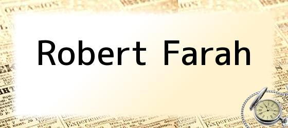 Robert Farah