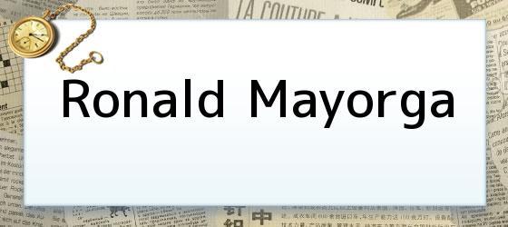 Ronald Mayorga