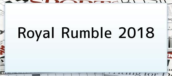 Royal Rumble 2018