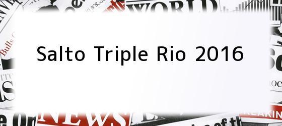 Salto Triple Rio 2016
