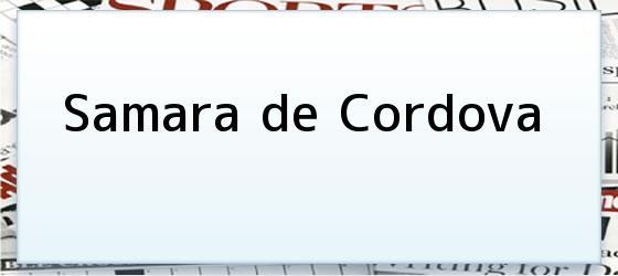 Samara de Cordova